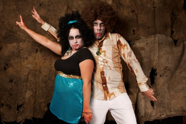 Nectars Halloween Disco Zombie Couple