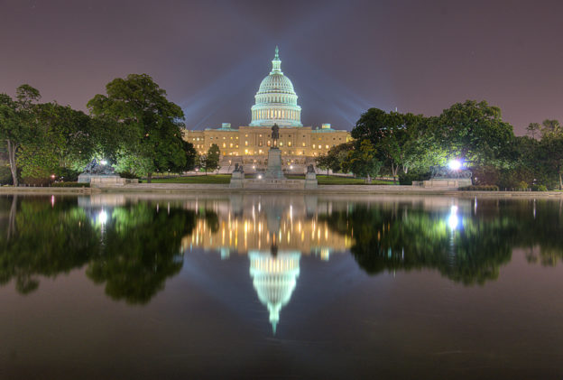 US Capital and Reflecting Pool