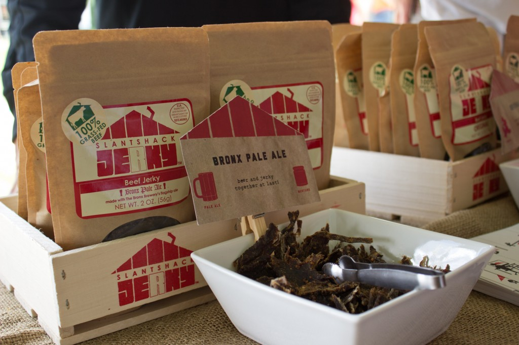 Mixing beer and jerky - could things get any better? Slantshack Jerky has the right idea.
