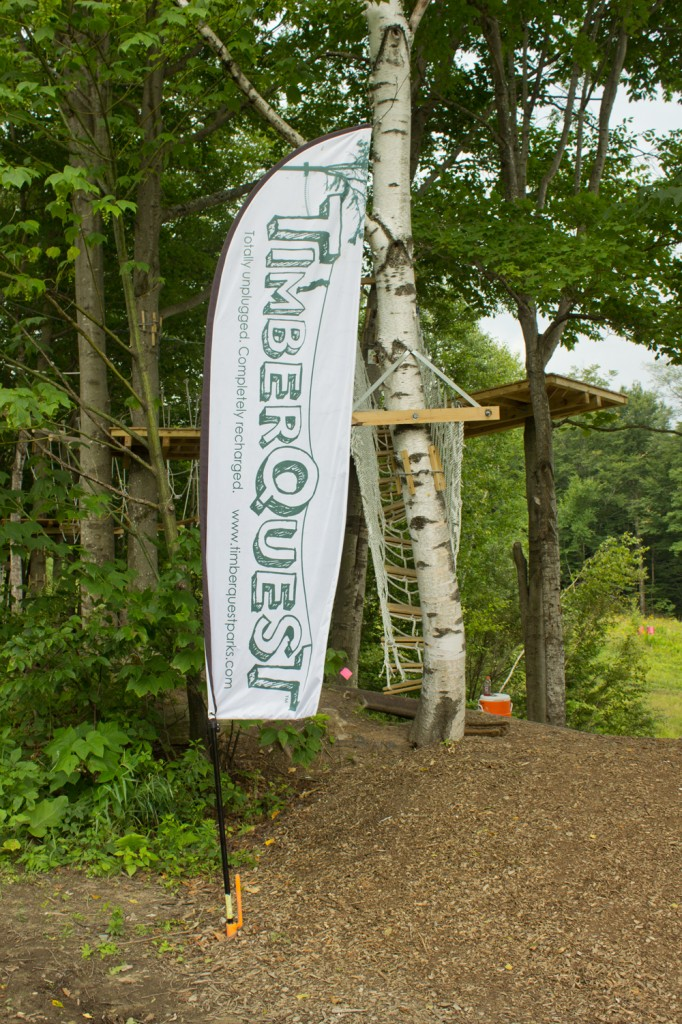 TimberQuest Sign