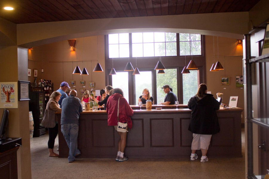 Shelburne Vineyard Tasting Room