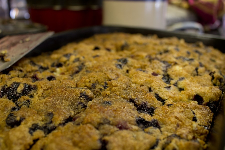 Green Mountain Orchards Blueberry Buckle