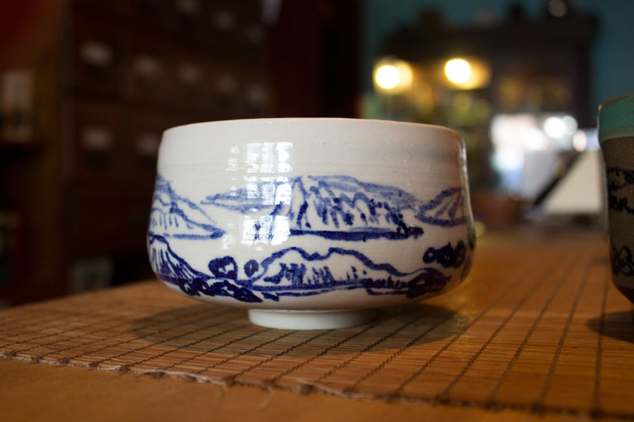 Dobra Tea Blue and White Mug