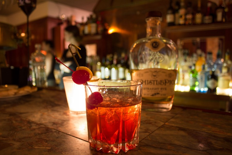 Blue Cat Whistle Pig Manhattan