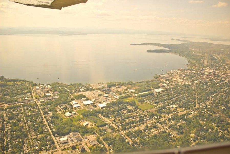 Burlington Vermont Airplane