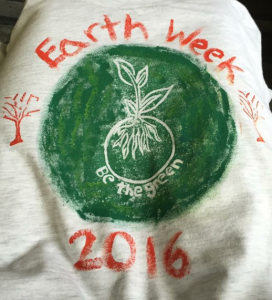 Capture earth week tee
