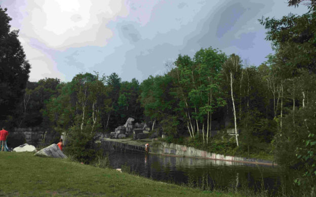 The Dorset Quarry – A Classic Vermont Swimming Hole