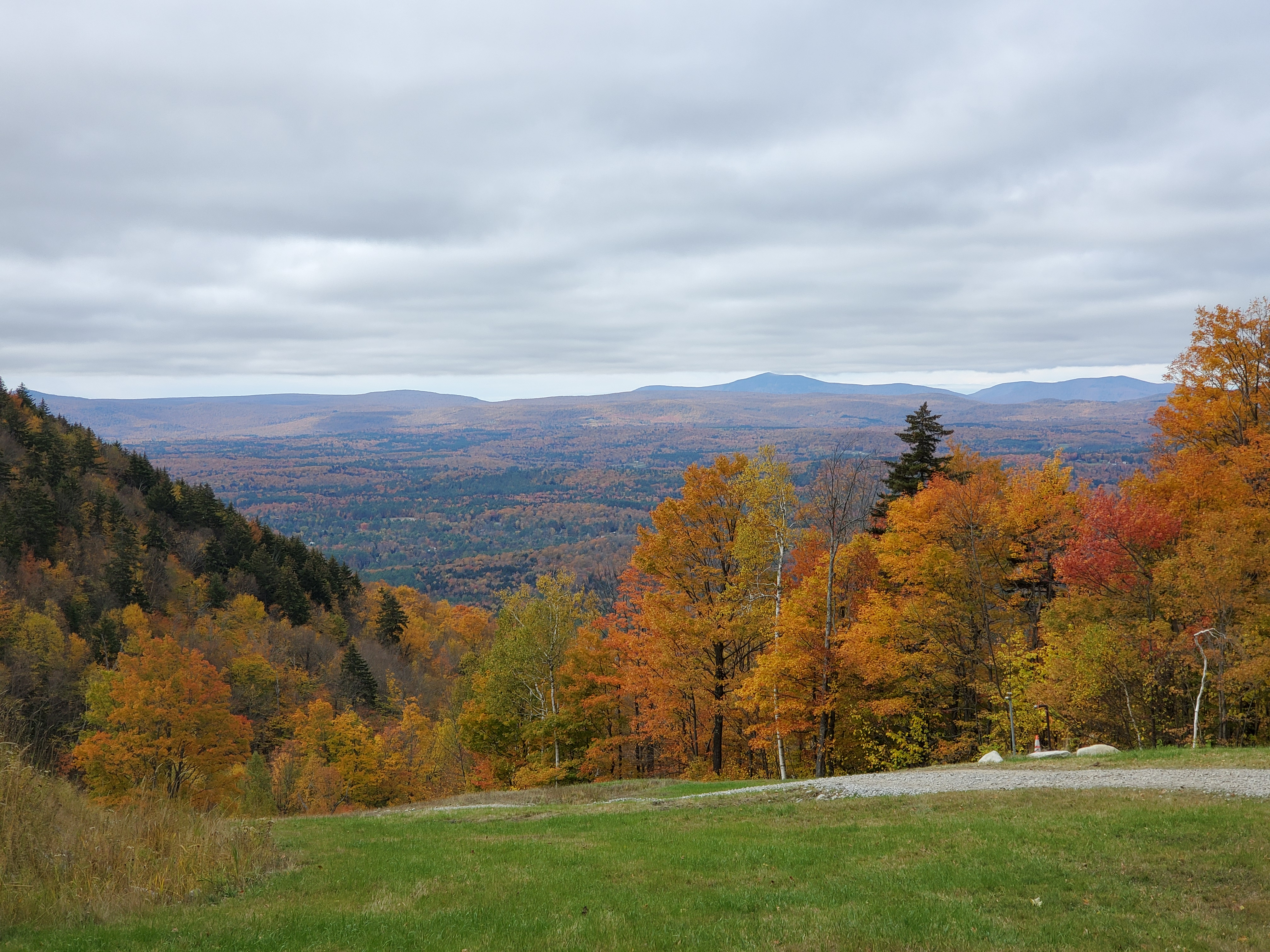 2019/10/12 - View from Magic Mountain in Londonderry, VT - by Renee-Marie Smith