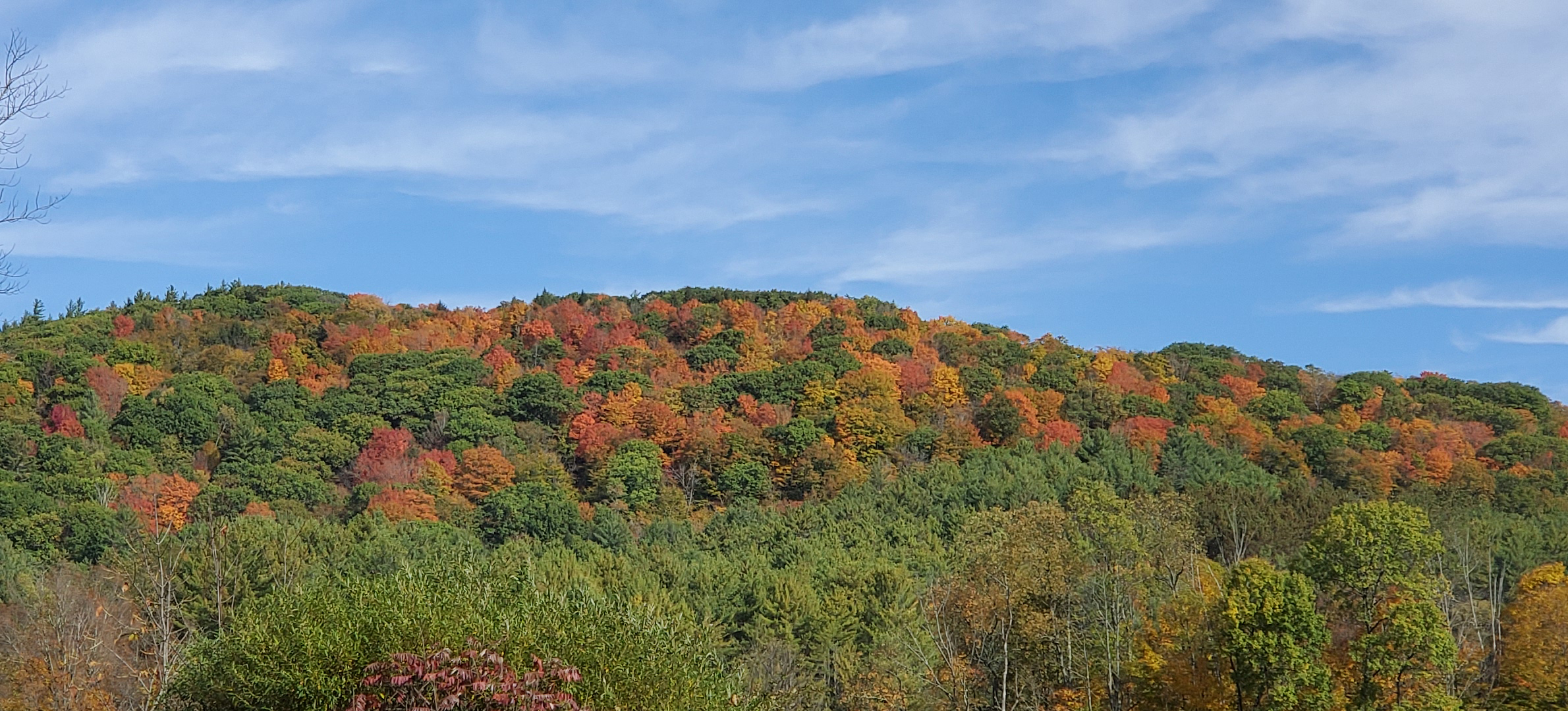 2019/10/08 - View from Rt 11 near Springfield, VT - by Renée-Marie Smith