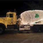 SD Ireland Christmas Mixer Truck at Smugglers Notch Resort