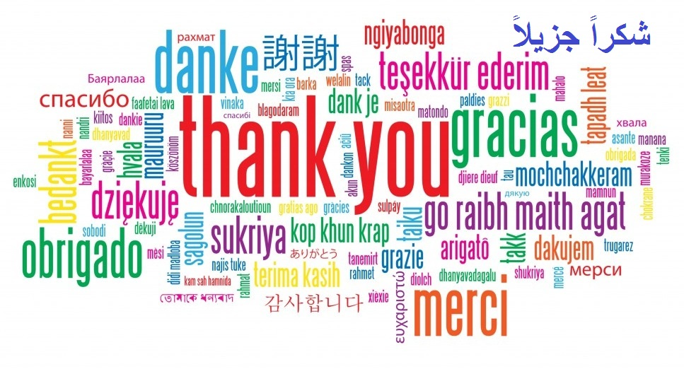 Thank You - Word Cloud