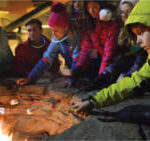 Stratton Mountain Resort - Kids at the Firepit