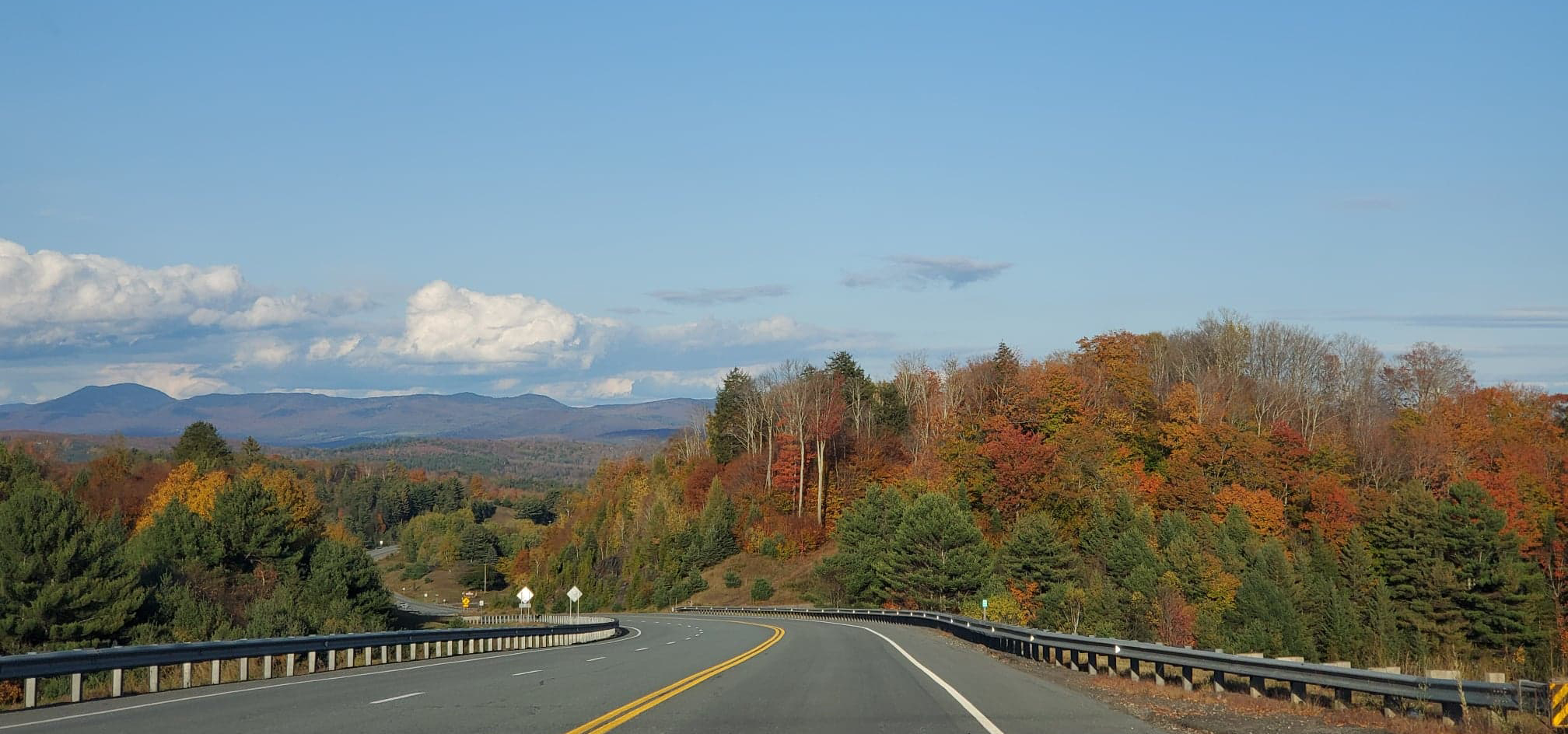 Foliage near Danville, VT by Renée-Marie Smith - 10-04-2020